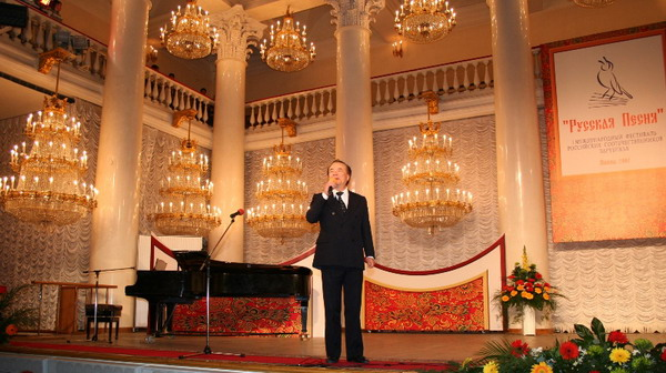 Nikolai Massenkoff, Theatre of Columns, Moscow, 2007, First International Festival of Russian Song